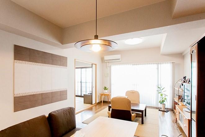 間取り変更はせず、室内全体をきれいにする全面リフォームの事例写真