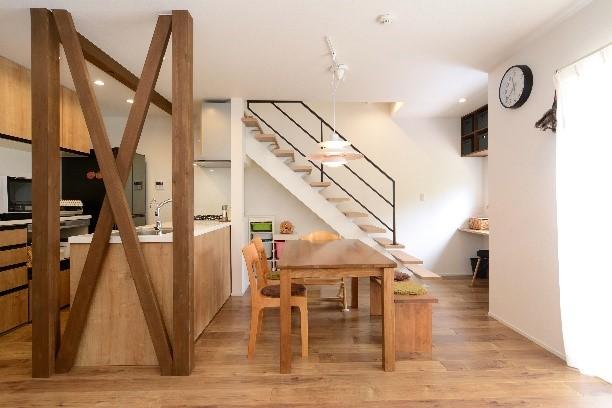 間取りを大幅に変え機能的な自宅にする全面リフォ―ムの事例写真
