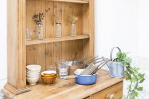 キッチンの棚をお手軽DIY