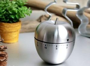 アップル型キッチンタイマー