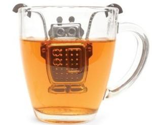 ロボット型茶こし