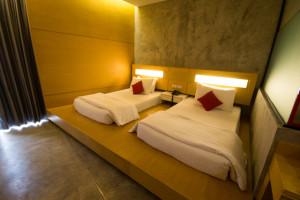 和室にベッドのコーディネート