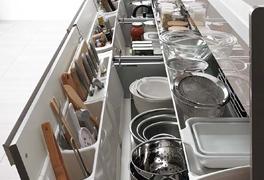 3-3.収納力事例 キッチン下 引き出し収納