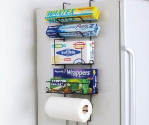 冷蔵庫横を有効活用