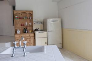 失敗例9.冷蔵庫のおける位置が悪くて料理がしにくい