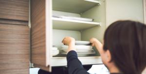 手順4.手の届きやすい収納スペースに置くものを決める