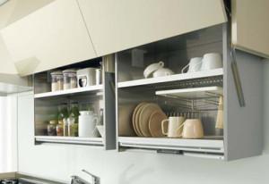 2-2吊戸棚や収納の高さを下げ使いやすくするアイテム 株式会社LIXIL