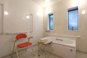 入浴台を設置する