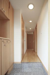 廊下の幅を拡張する