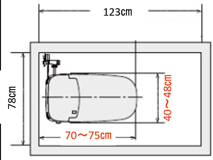 0.4坪トイレ理想