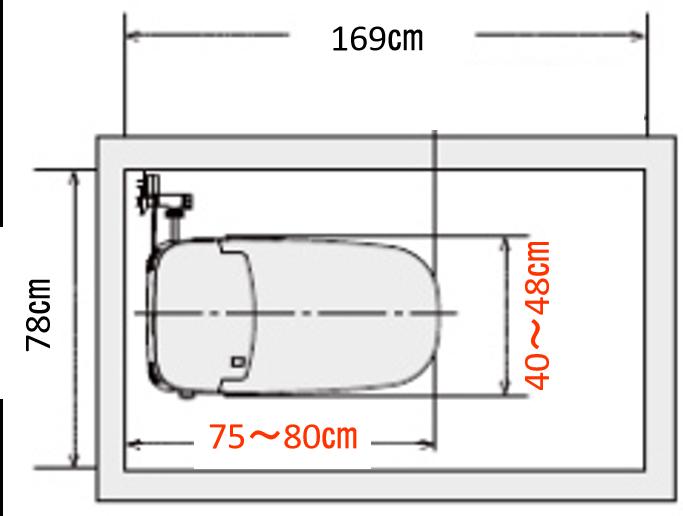0.5坪トイレ理想