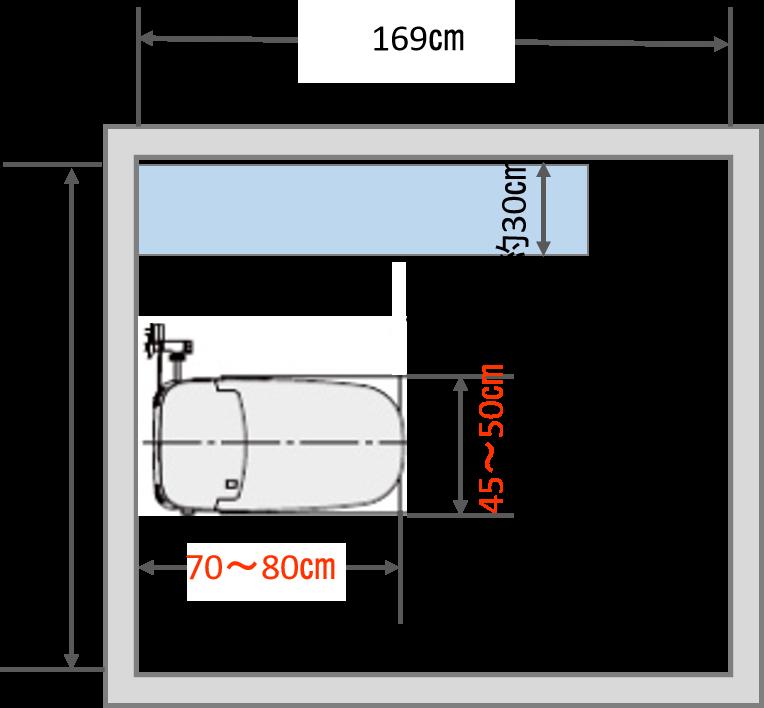 0.75坪トイレ理想