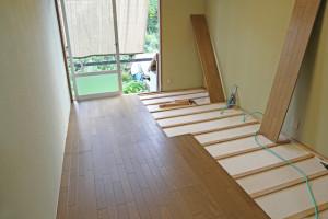 床下断熱+床材の張替えの場