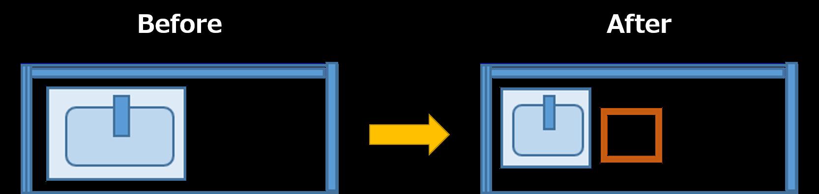 プラン2.大きさはそのまま、シンクが小さい機能充実のキッチンに交換2