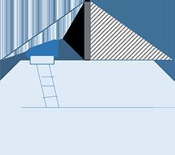 増し床工事で既存の屋根裏空間