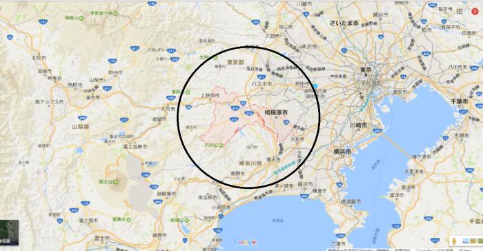 相模原市地図