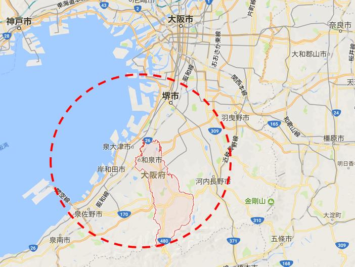 和泉市マップ