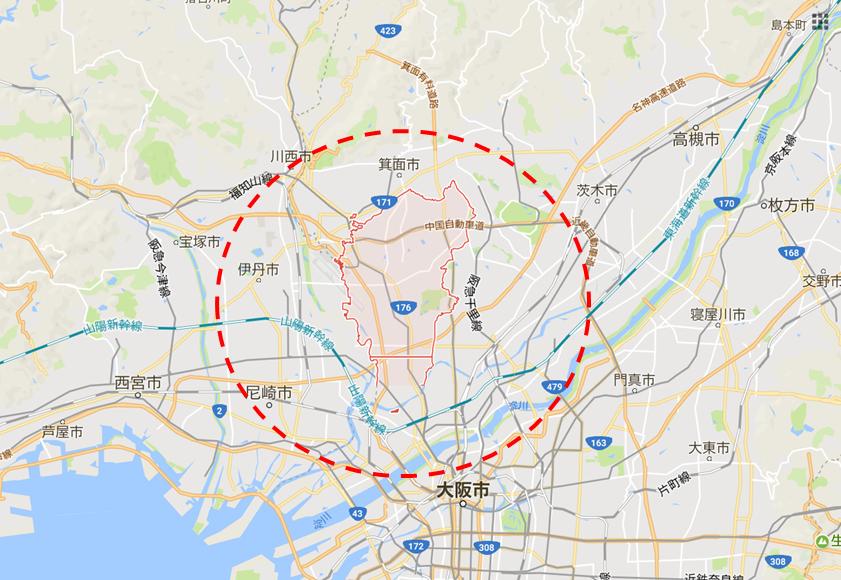 豊中市イメージ図