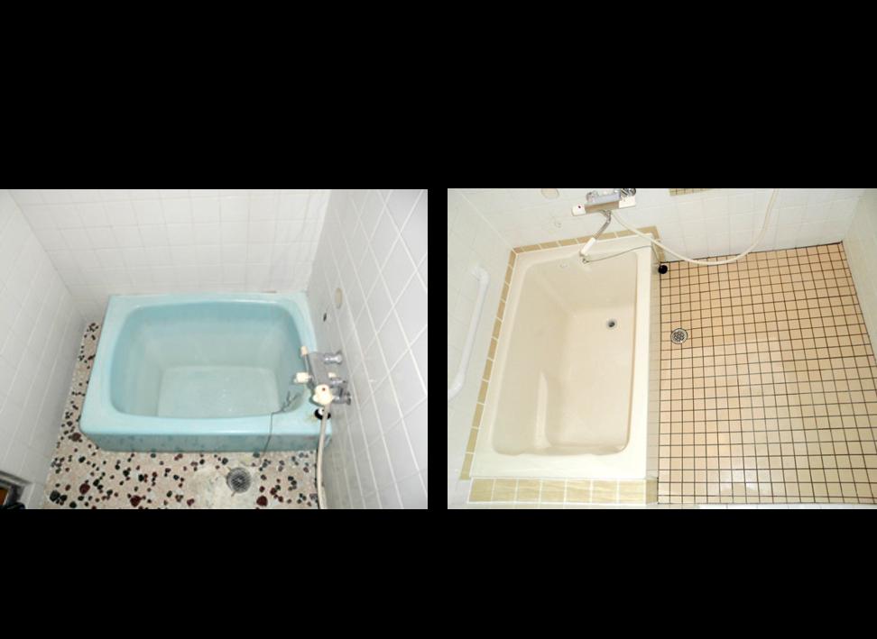 埋込みタイプのFRP浴槽交換(税込230,000円)