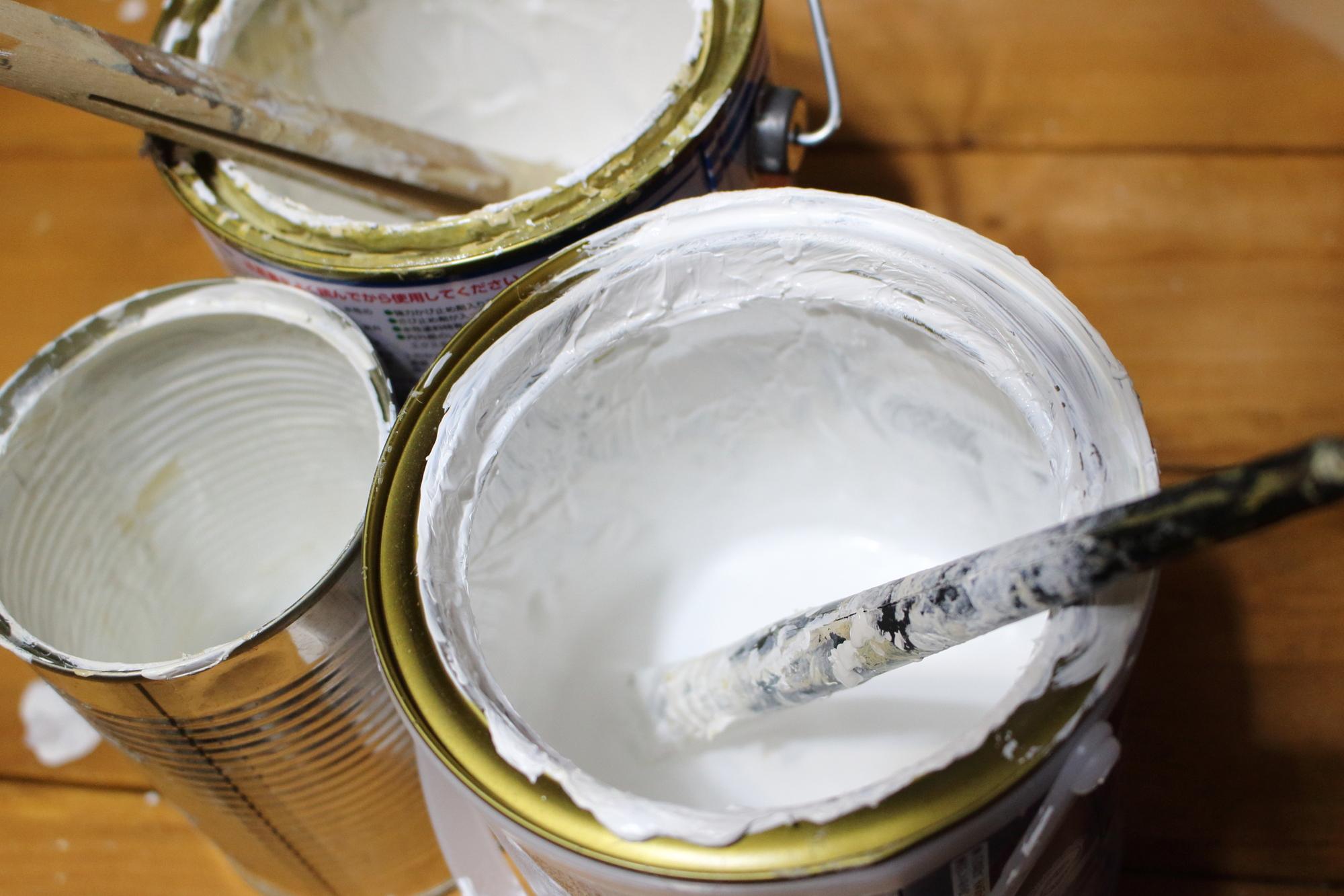 1-5.水性塗料と溶剤系塗料の違い