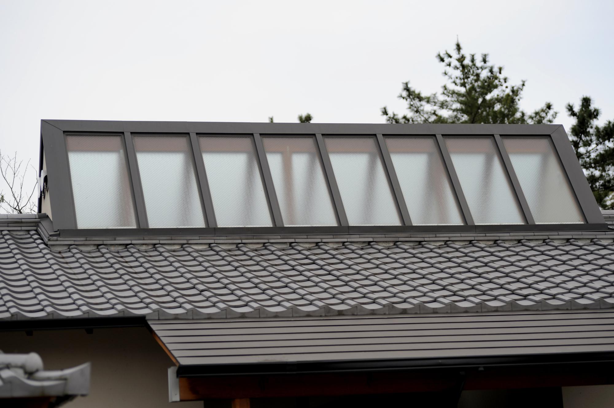 1-6.屋根のトップライト周辺