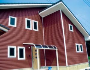 樹脂系サイディングの家